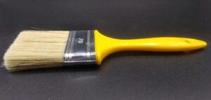 Pennellessa professionale setola bionda con manico in plastica - vista laterale taglia 70