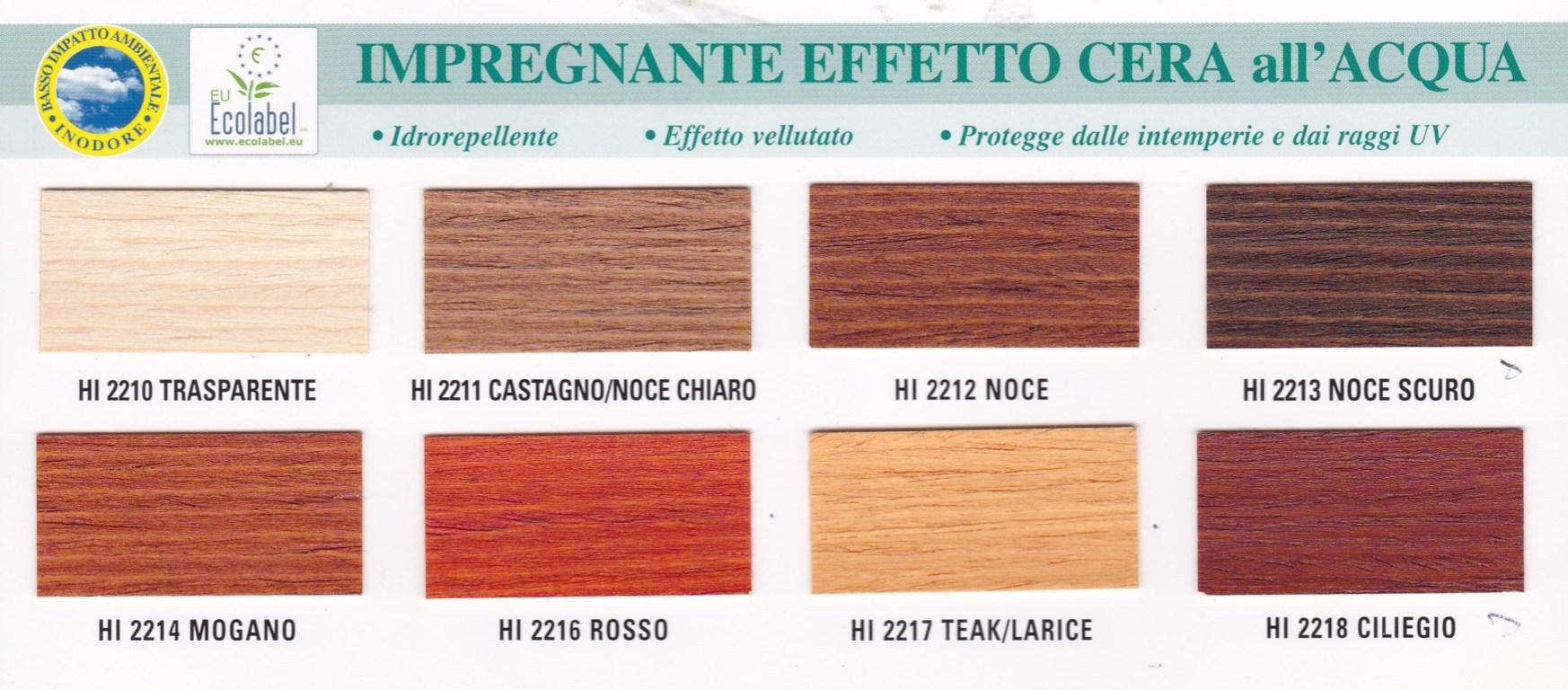 Sayerlack Hi221x Impregnante Acqua Effetto Cera Colori Vari Starcolor