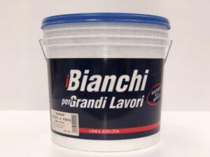 """Stucco riempitivo per muri interni """"I Bianchi"""" etichetta"""