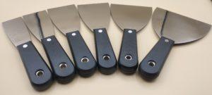 Spatola per stucco in acciaio inox – art. 7163 (9)