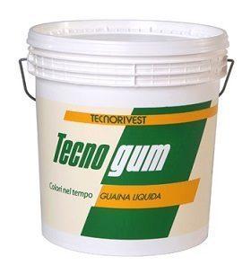 Guaina liquida impermeabilizzante Tecnogum Tecnorivest