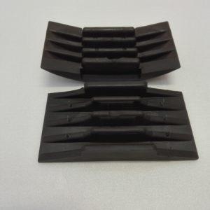 Tampone per carta abrasiva in gomma semplicissimo da usare – art. 031M - aperto