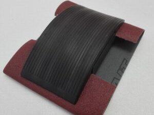 Tampone per carta abrasiva in gomma semplicissimo da usare – art. 031M - completo
