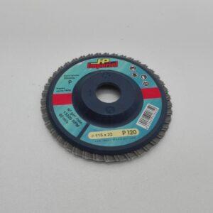 Disco abrasivo lamellare allo zirconio imperial
