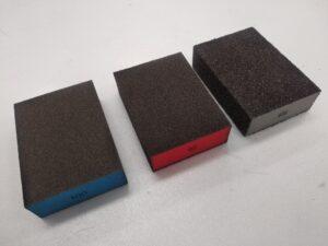 Spugnette abrasive per carteggiare e lucidare - Imperial (6)
