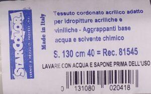 Ricambio rullo per resine per pavimenti extra largo etichetta