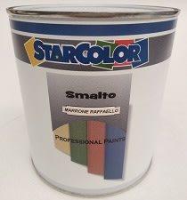 Smalto nitroacrilico Raffaello Marrone verniciature a polvere