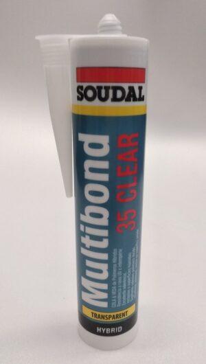 Sigillante ad alta elasticità Multibond 35 Clear Soudal