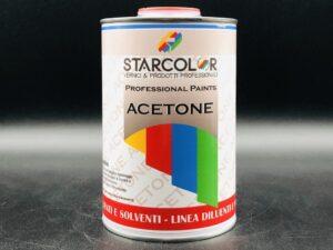 Acetone per vernici professionale 1 litro