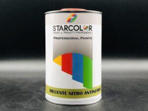 Diluente nitro antinebbia per smalti e vernici nitro 1 litro